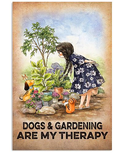 Farmer Dogs And Gardening Are My Therapy