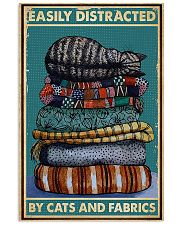 Sewing Cats And Fabrics 11x17 Poster front
