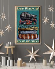 Sewing Cats And Fabrics 11x17 Poster lifestyle-holiday-poster-1