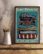 Sewing Cats And Fabrics 11x17 Poster lifestyle-poster-3