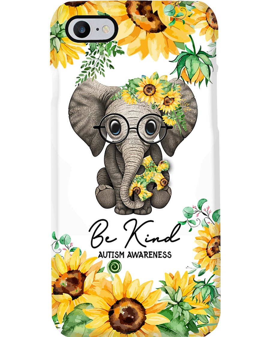 Autism Awareness be kind Phone Case
