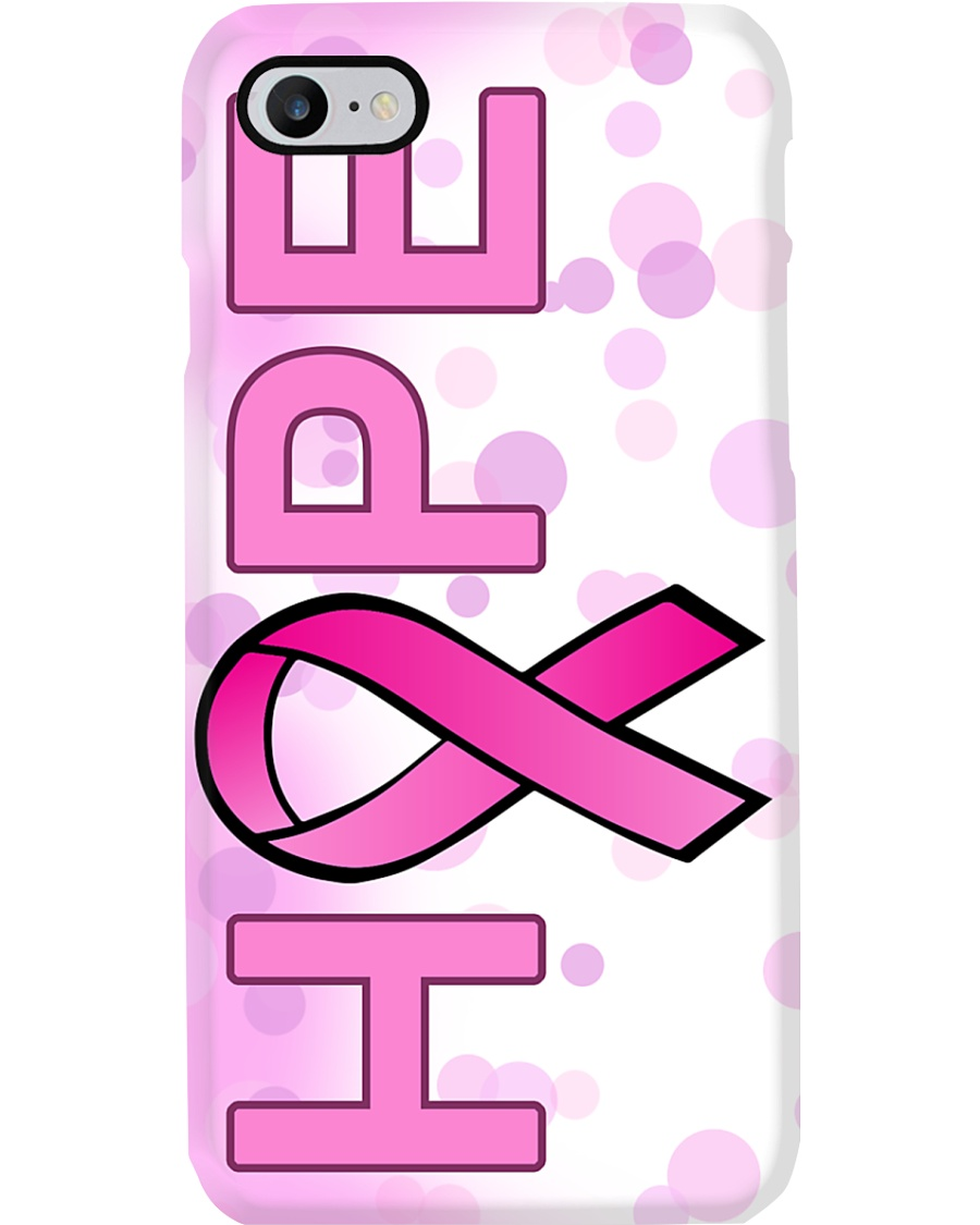 Breast Cancer Awareness Hope Phone Case