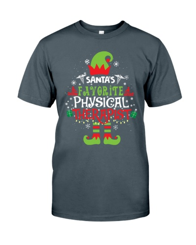 Santa's favorite Physical Therapist Xmas