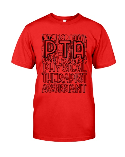 Physical Therapist Assistant Gift Typography