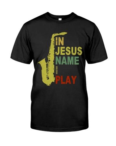 Saxophone  - In Jesus name I play