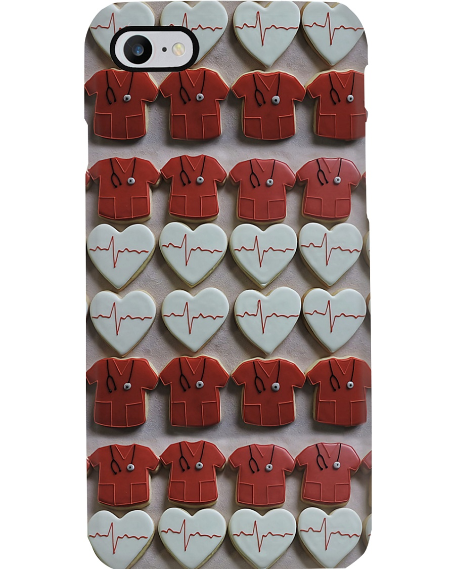 Cardiologist Icons Chocolate Cakes  Phone Case