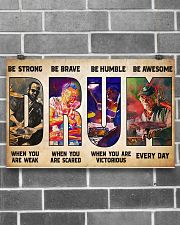 Drummers Be Strong When You Are Weak 17x11 Poster poster-landscape-17x11-lifestyle-18