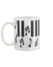 Pianist Piano Keys Mug back