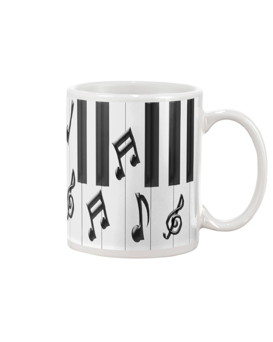 Pianist Piano Keys Mug