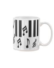 Pianist Piano Keys Mug front