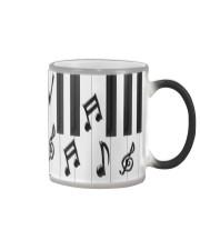 Pianist Piano Keys Color Changing Mug tile