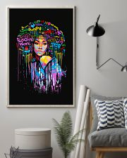 Social Worker Colorful Woman  11x17 Poster lifestyle-poster-1
