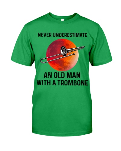 Never Underestimate An Old Man With A Trombone
