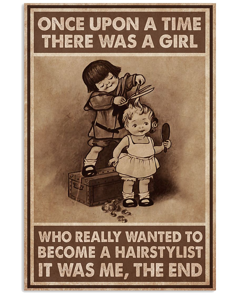 Hairdresser There Was A Girl 11x17 Poster