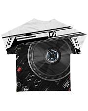 DJ Mixer All-over T-Shirt back