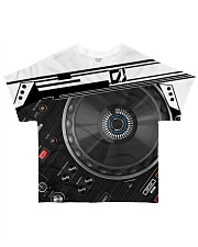 DJ Mixer All-over T-Shirt front