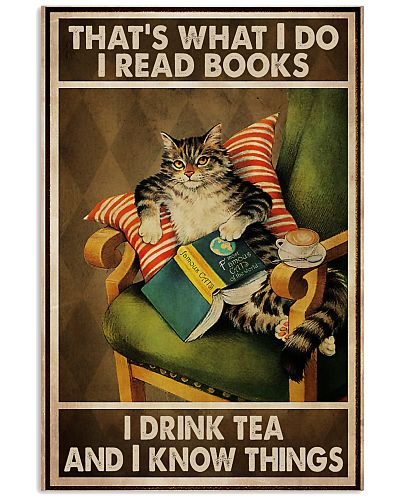 Book Lover I Read Books And Drink Tea