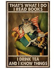 Book Lover I Read Books And Drink Tea 11x17 Poster front
