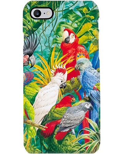 Parrot phonecase