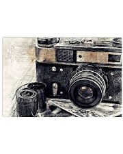 Vintage Camera Photographer 17x11 Poster front