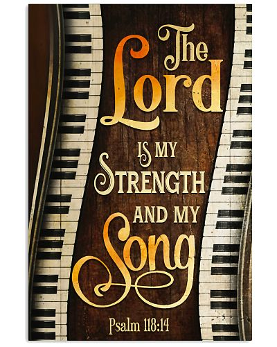 Piano the lord is my strength and my song