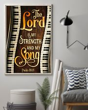 Piano the lord is my strength and my song  11x17 Poster lifestyle-poster-1