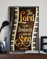 Piano the lord is my strength and my song  11x17 Poster lifestyle-poster-2