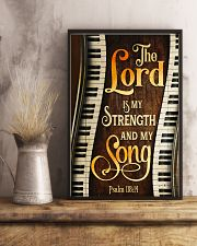 Piano the lord is my strength and my song  11x17 Poster lifestyle-poster-3
