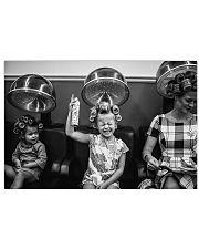 Hairdresser Vintage Children 36x24 Poster front