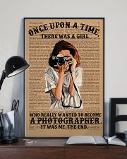A Girl Wanted Become A Photographer 11x17 Poster lifestyle-poster-2