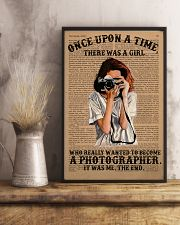 A Girl Wanted Become A Photographer 11x17 Poster lifestyle-poster-3
