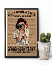A Girl Wanted Become A Photographer 11x17 Poster lifestyle-poster-8