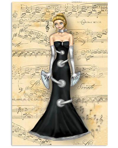 Clarinet Fashion Woman