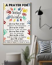 Social Worker A prayer for social worker 11x17 Poster lifestyle-poster-1
