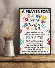 Social Worker A prayer for social worker 11x17 Poster lifestyle-poster-3