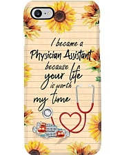 Physician Assistant Your life worth my time Phone Case i-phone-7-case