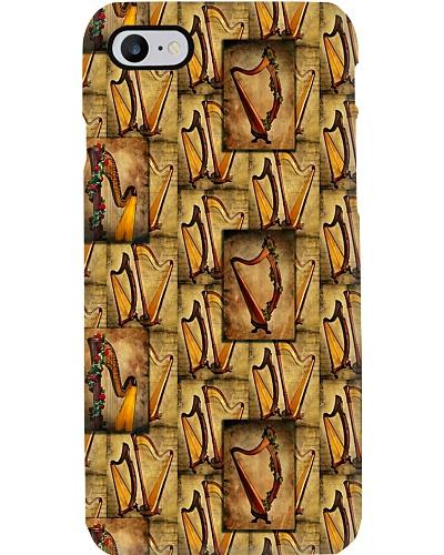 Harp Vintage Background