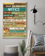 Social Worker When you enter this office  Poster 11x17 Poster lifestyle-poster-1