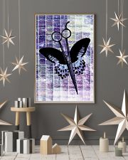 Purple Butterfly Scissor Hairdresser 11x17 Poster lifestyle-holiday-poster-1