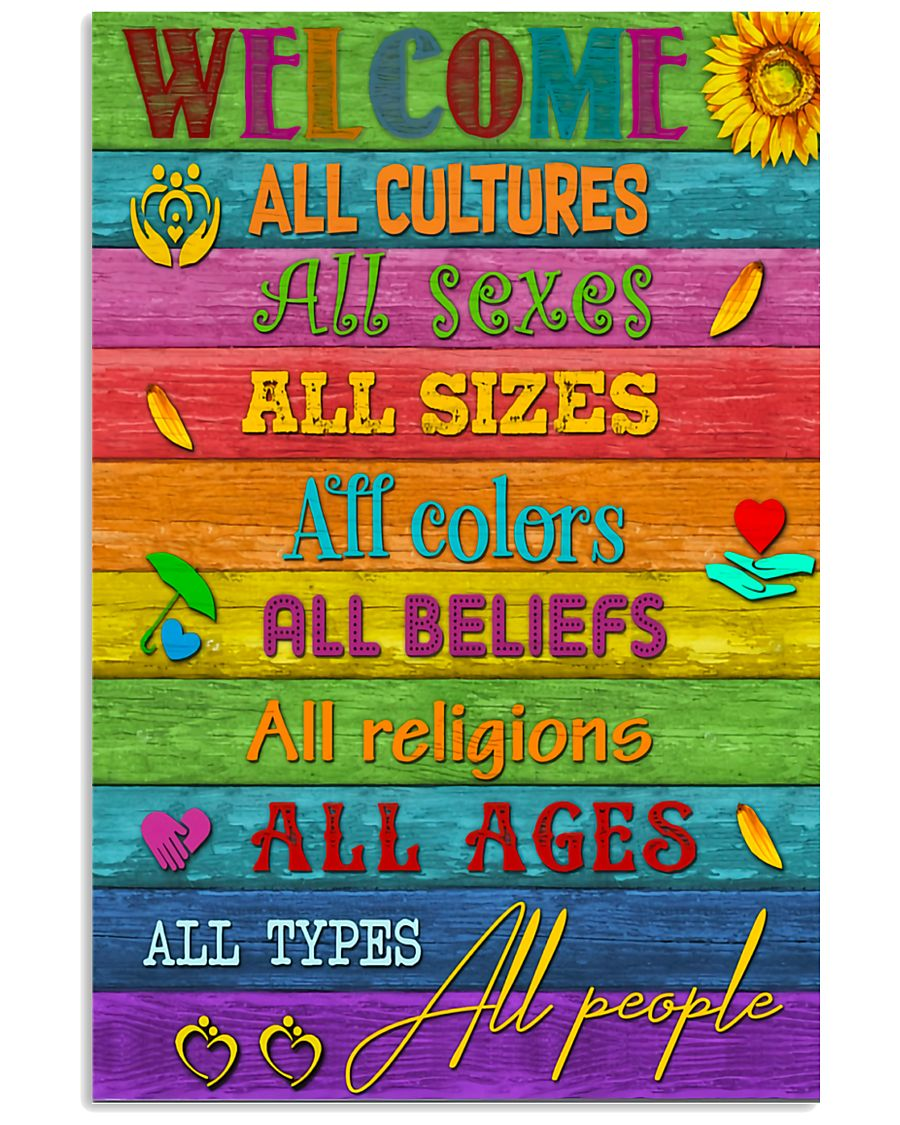 Social Worker Welcome 11x17 Poster
