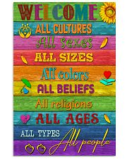 Social Worker Welcome 11x17 Poster front