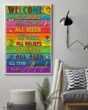 Social Worker Welcome 11x17 Poster lifestyle-poster-1