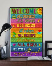Social Worker Welcome 11x17 Poster lifestyle-poster-2