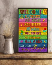 Social Worker Welcome 11x17 Poster lifestyle-poster-3