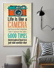 Photographer Life Is Like A Camera 11x17 Poster lifestyle-poster-1