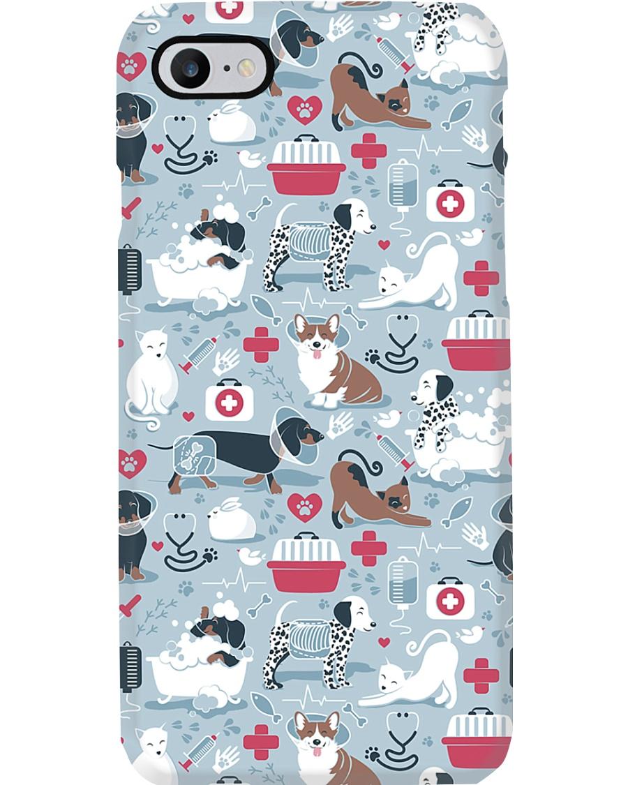 Veterinarian Veterinary Animal Icons Gift Phone Case