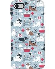 Veterinarian Veterinary Animal Icons Gift Phone Case i-phone-7-case