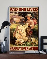 Sewing And She Lived Happily Ever After 11x17 Poster lifestyle-poster-2