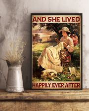Sewing And She Lived Happily Ever After 11x17 Poster lifestyle-poster-3