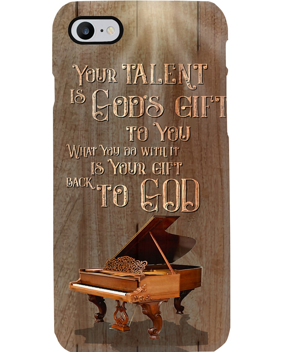 Pianist Your talent is god gift to you Phone Case